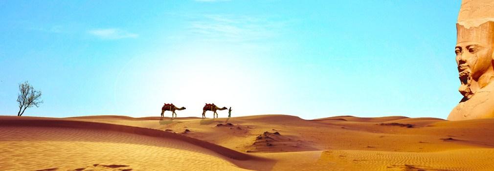Sahara in Egypte