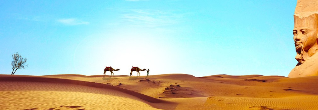 Sahara in Egypte