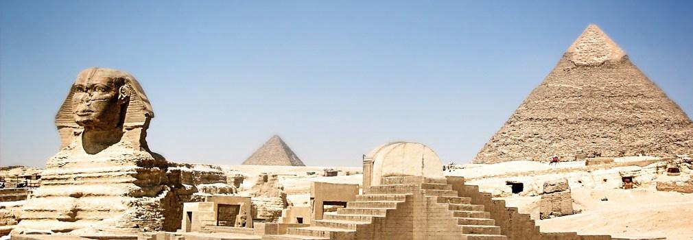 De Sfynx in Egypte