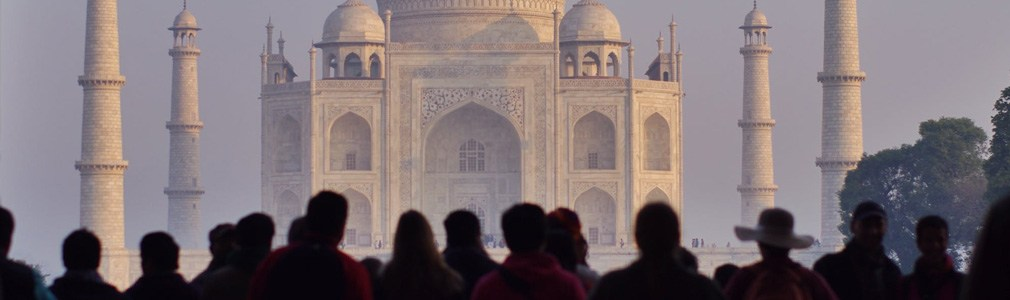 De Taj Mahal in India
